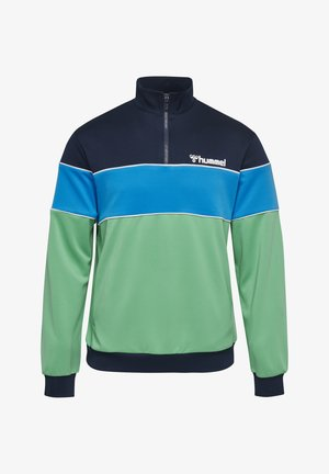LIAM - Bluza z polaru - marine/green