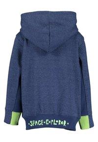 Blue Seven - SPACE ADVENTURE - Zip-up sweatshirt -  jeansblau mel - 2