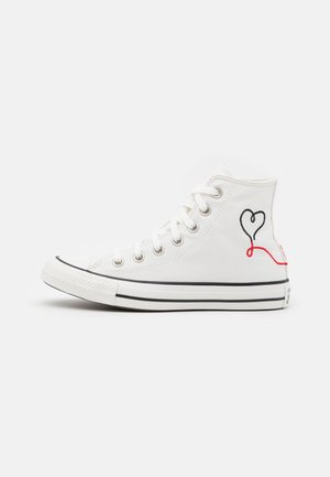 CHUCK TAYLOR ALL STAR UNISEX - Korkeavartiset tennarit - vintage white/egret/black