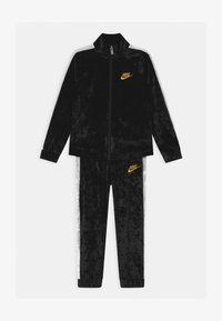 Nike Sportswear - CRUSHED TRACK SET - Tracksuit - black - 0