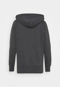 GAP - SHINE - Zip-up sweatshirt - charcoal heather - 1