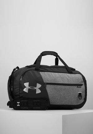 UNDENIABLE DUFFEL 4.0 - Sports bag - graphite medium heather/black