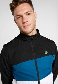 Lacoste Sport - TRACKSUIT - Dres - black/illumination white - 7