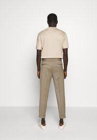Filippa K - TERRY CROPPED PANTS - Trousers - grey taupe - 2