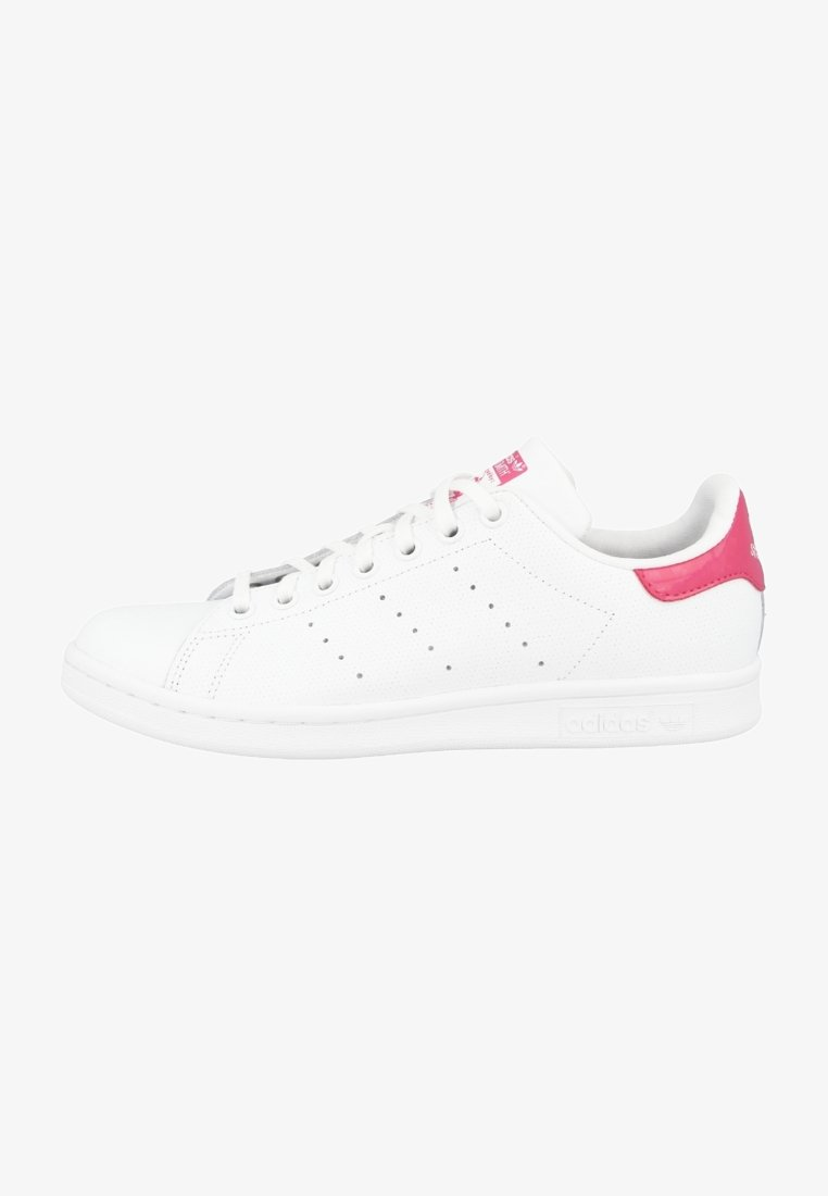 adidas Originals - STAN SMITH - Sneakers laag - running white-bold pink