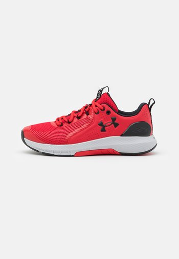 CHARGED COMMIT TR  - Sports shoes - red/halo gray/black