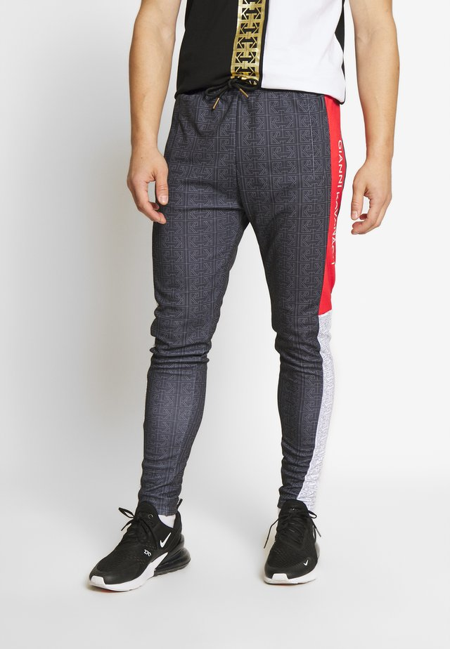 MONOGRAM - Tracksuit bottoms - anthracite