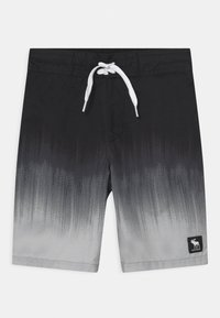 Abercrombie & Fitch - BOARD - Swimming shorts - black/grey - 0