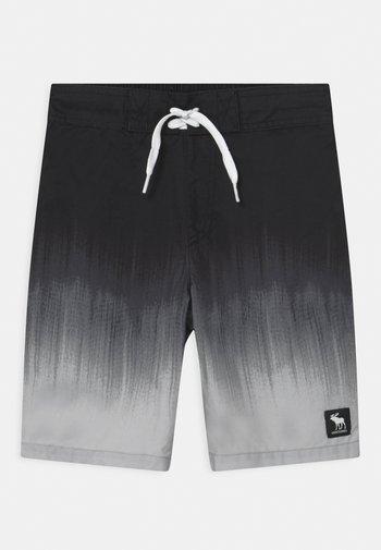 BOARD - Swimming shorts - black/grey