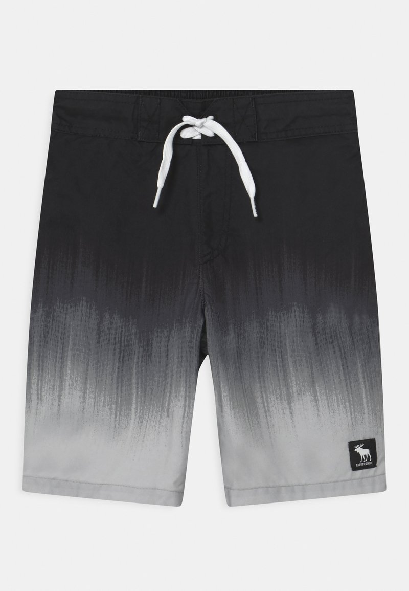 Abercrombie & Fitch - BOARD - Swimming shorts - black/grey