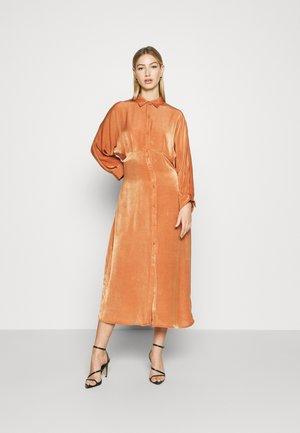 YASPHACOTTA DRESS - Shirt dress - adobe