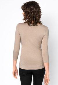 HALLHUBER - Long sleeved top - beige - 1