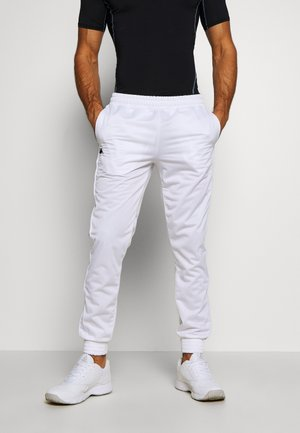 GILLIP - Tracksuit bottoms - bright white