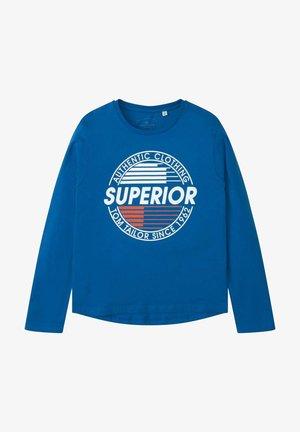 Long sleeved top - blue lolite|blue