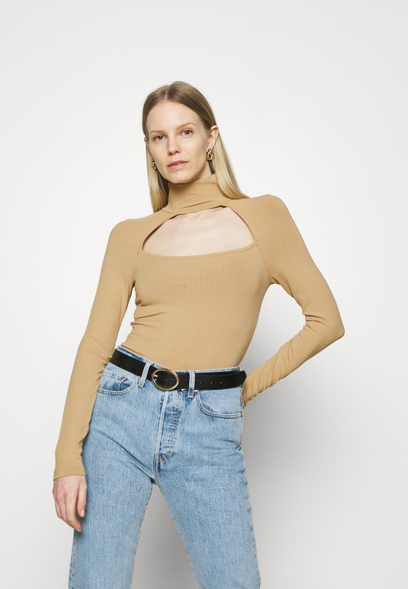 Guess - NIHAN  - Jumper - toasted taupe