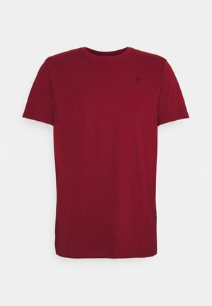 BASE - T-shirt basic -  chateaux red