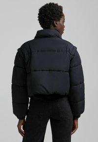 Bershka - PUFF 06575644 - Winter jacket - black - 2