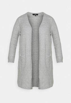 DOFFY - Cardigan - light grey melange
