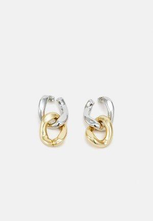 PETITES BOUCLES D'OREILLES BICOLORES - Earrings - silver-coloured/gold-coloured