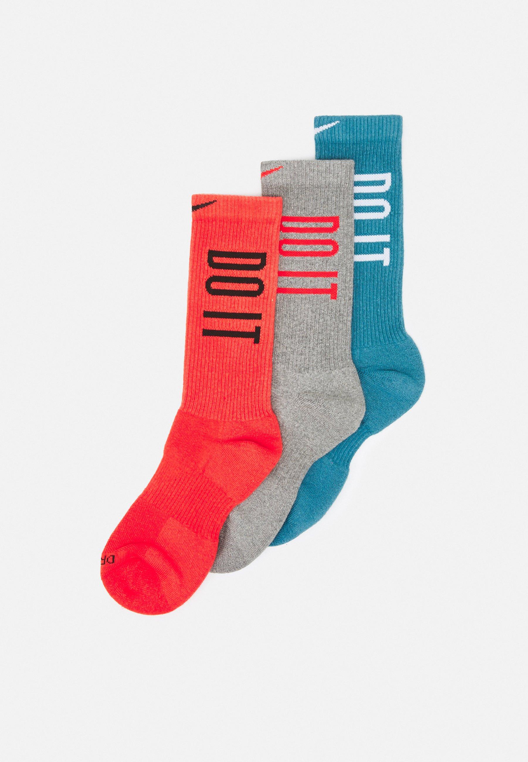 Men EVERYDAY PLUS CUSH CREW 3 PACK UNISEX - Sports socks