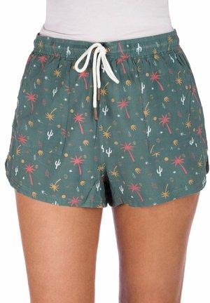ELSA  - Shorts - silver pine/palmprint