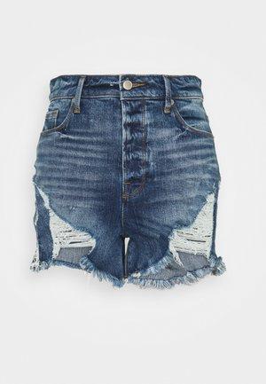 BOMBSHELL - Denim shorts - blue
