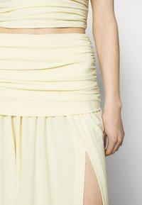 Bec & Bridge - ISLA MIDI SKIRT - Maxi skirt - butter - 4