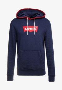 Levi's® - MODERN HOODIE - Luvtröja - nightwatch blue/warm cabernet - 4