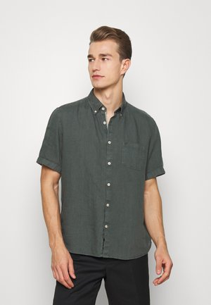 BUTTON DOWN,SHORT SLEEVE,POCKET,FAC - Shirt - mangrove