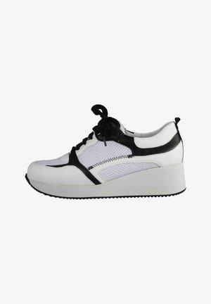 Sneakers laag - schwarz-weiss