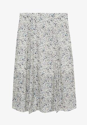SANDRA - A-line skirt - gris glacé
