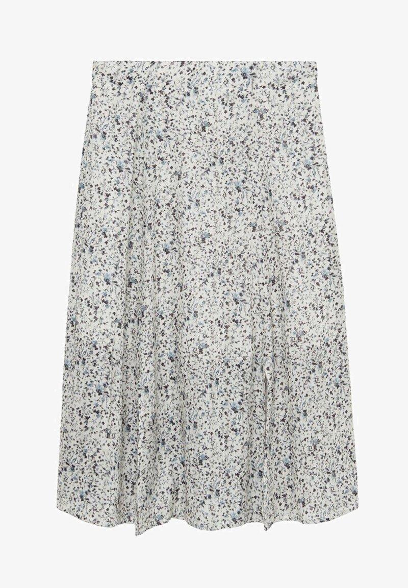 Mango - SANDRA - A-line skirt - gris glacé