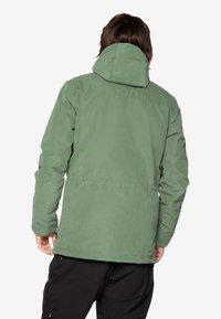 Protest - Ski jacket - mottled dark green - 2