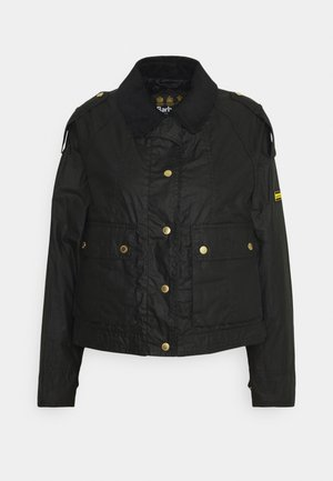 BURNOUT - Summer jacket - black