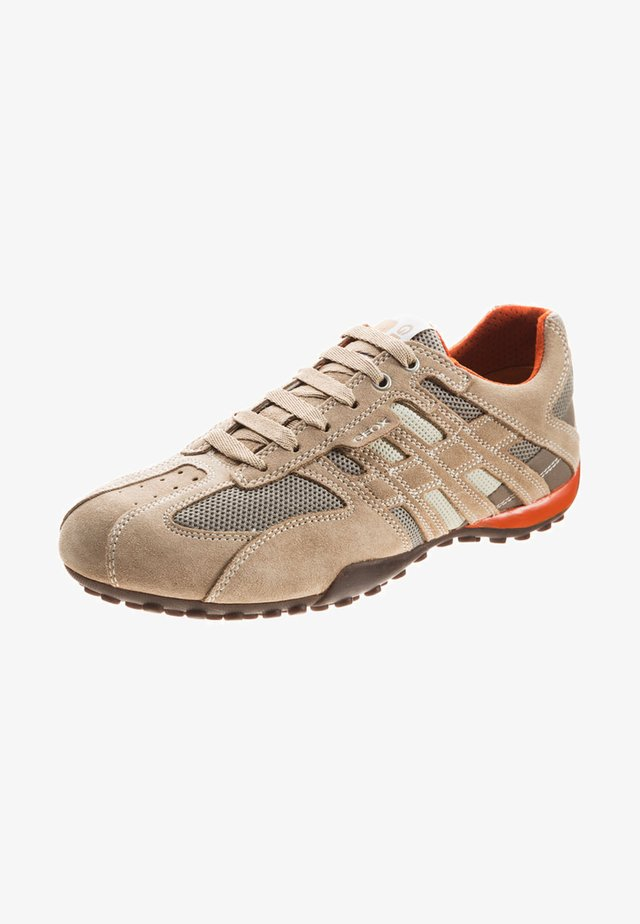 Trainers - beige/ dark orange