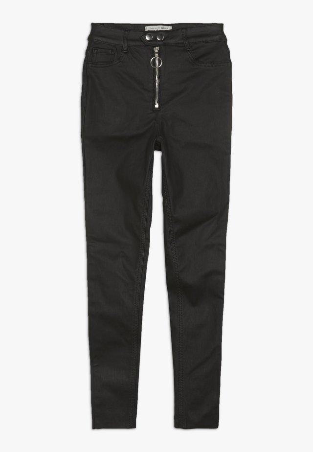 RENIE COATED DISCO - Jeans Skinny - black