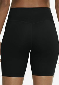 Nike Performance - ONE SHORT - Tights - black/white - 5