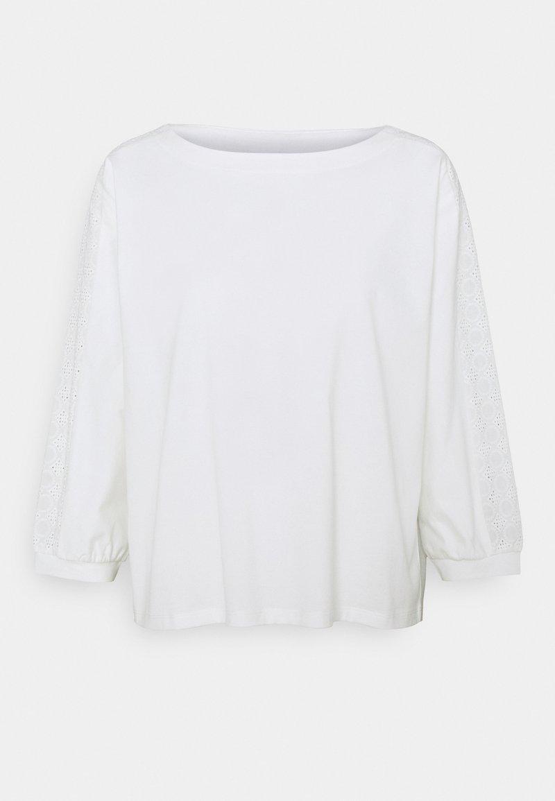 Opus - SLOOM - Bluzka z długim rękawem - milk