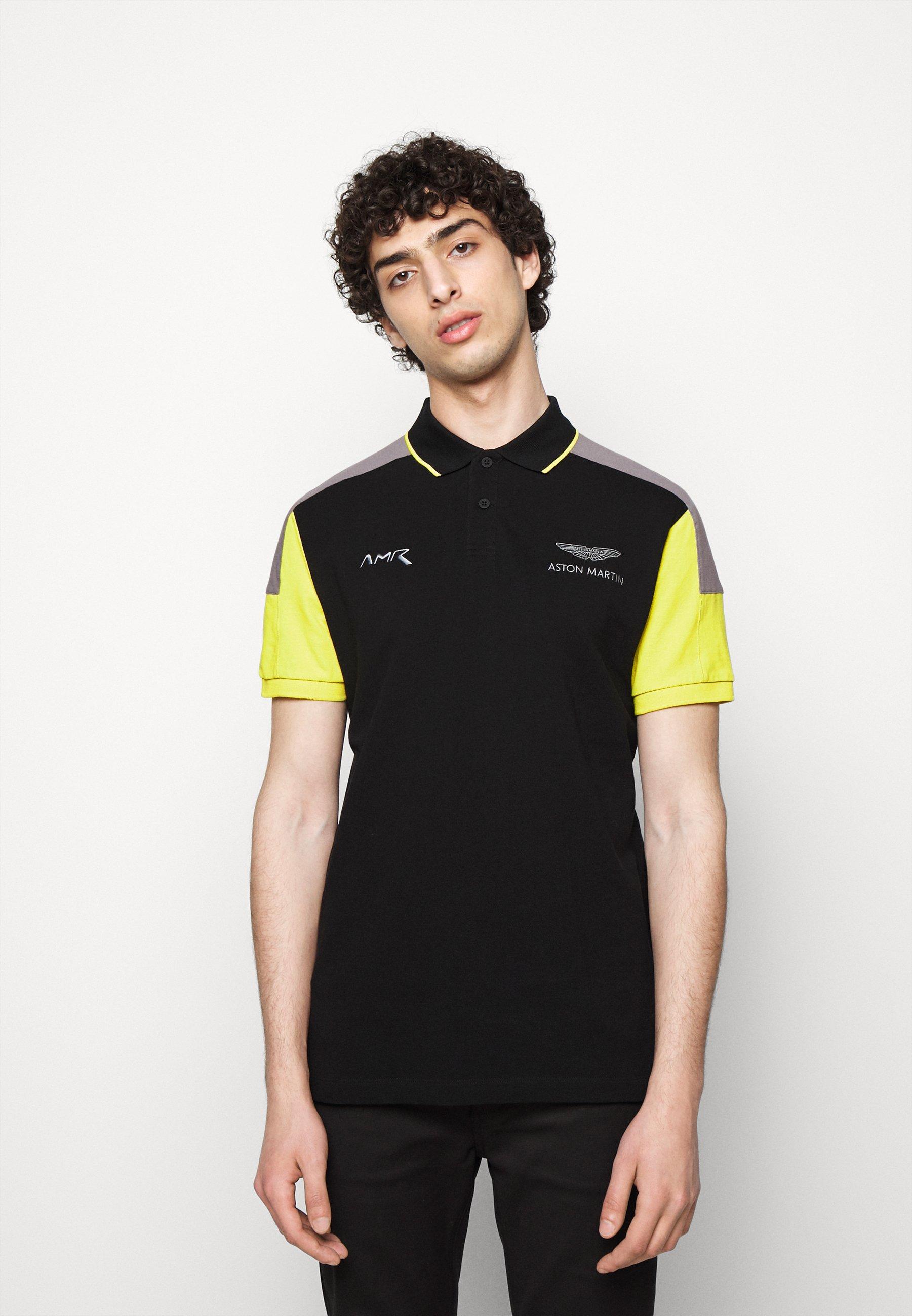 Men BLOCK PANEL - Polo shirt