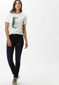 BRAX - STYLE ANA - Jeans Skinny Fit - used blue black - 1