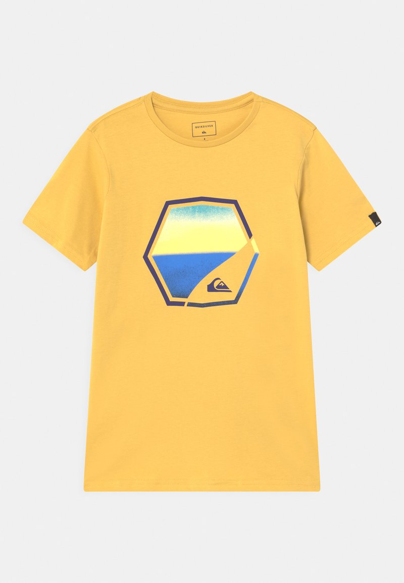 Quiksilver - FADING OUT - Print T-shirt - rattan