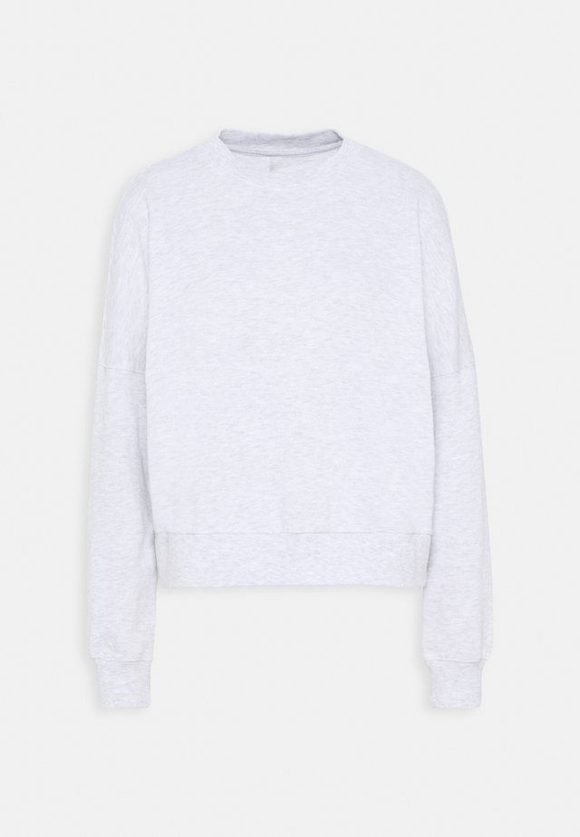 HARPER BOXY CREW - Sweatshirt - cloud dancer