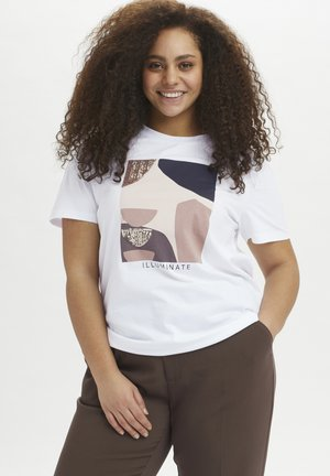 KCVERONICA - Print T-shirt - optical white