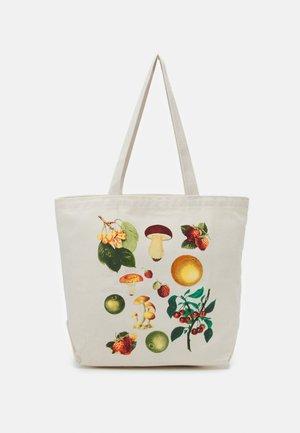 FRUITS MUSHROOMS UNISEX - Bolso shopping - natural