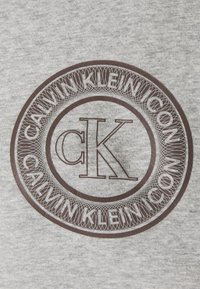 Calvin Klein Underwear - ICONIC LOUNGE FULL ZIP HOODIE - Pyjamashirt - grey heather - 2