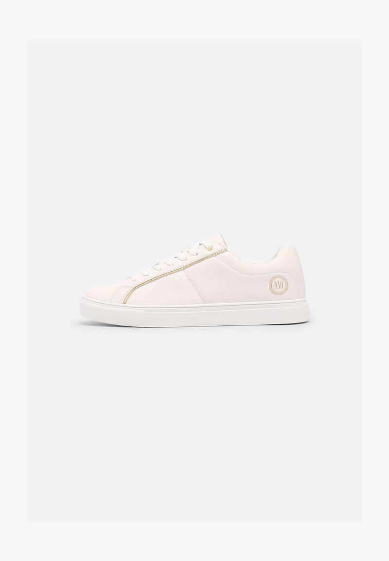 Pier One - Sneakers - white/gold-coloured