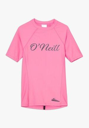 LOGO SKINS - Camiseta de lycra/neopreno - pink lemonade