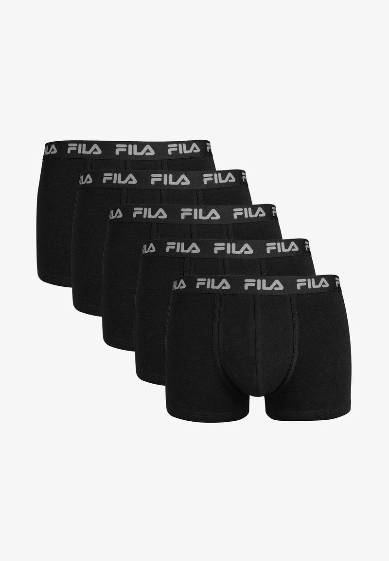 Fila - 5 PACK - Culotte - schwarz