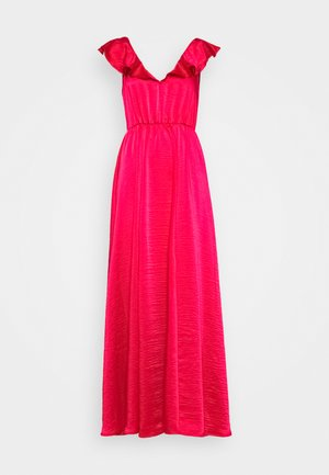 VIFLOATING FRILL MAXI DRESS - Occasion wear - barberry