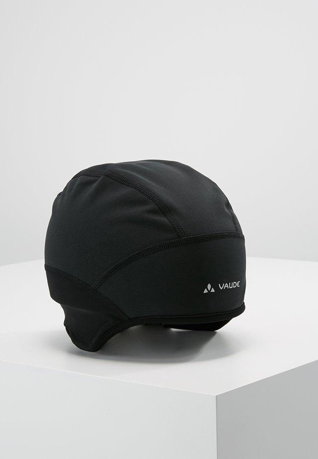 BIKE WINDPROOF CAP III - Bonnet - black